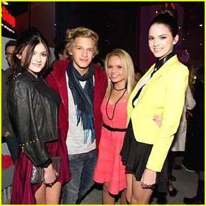 Cody Simpson & Kylie Jenner: Popstar 12 in 12 Party!