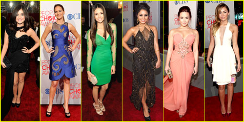 2012 People's Choice Awards -- Best Dressed Poll!