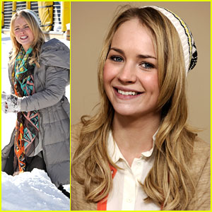 Britt Robertson Almost Missed Sundance!