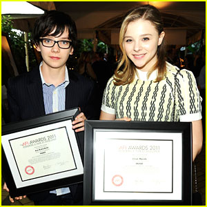 Chloe Moretz & Asa Butterfield: AFI Awards 2012