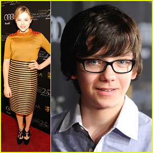 Chloe Moretz & Asa Butterfield: Two For BAFTA Tea