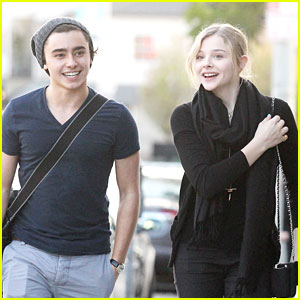 Chloe Moretz: Weekend Walk with Jansen Panettiere