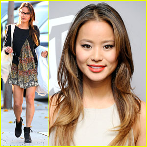 Jamie Chung: InStyle Golden Globes Gal