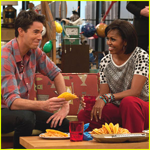 Jerry Trainor Meets The First Lady -- More Stills!