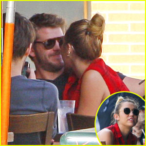 Miley Cyrus & Liam Hemsworth: Lunch in Los Angeles