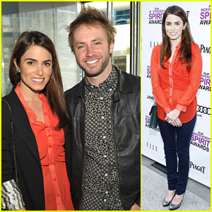 Nikki Reed: Spirit Awards Brunch 2012