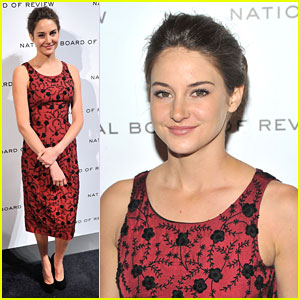 Shailene Woodley: NBR's Best Supporting Actress!