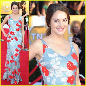Shailene Woodley: SAG Awards 2012