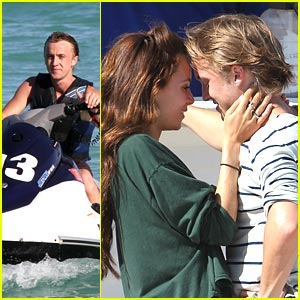 Tom Felton: Jet Skiing with Jade!