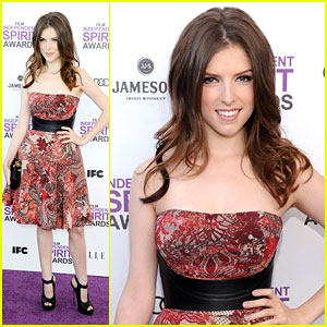 Anna Kendrick: Spirit Awards 2012