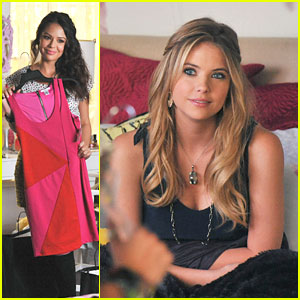 Ashley Benson is 'Breaking The Code'
