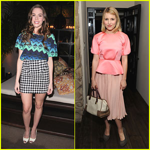Dianna Agron & Christa B. Allen: Marni for H&M Hotties