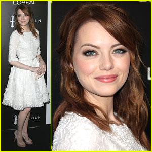 Emma Stone: 'Essence' Hollywood Luncheon Lady