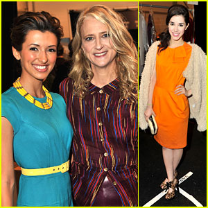 Erica Dasher & India de Beaufort: Front Row for Nanette Lepore!