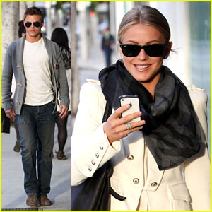 Julianne Hough: Dinner with Brother Derek