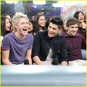 One Direction Takes Over New Music Live!