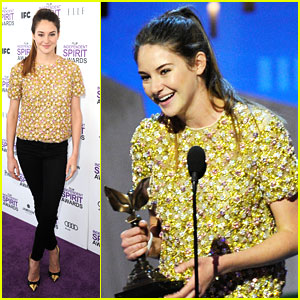 Shailene Woodley WINS at Spirit Awards 2012!