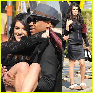 Shenae Grimes: '90210' at the Hollywood Cemetery