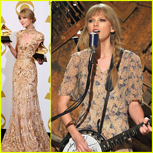 Taylor Swift -- Grammys 2012 Performance!