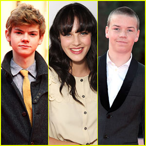 Will Poulter & Thomas Brodie Sangster are 'Shoplifters of the World'