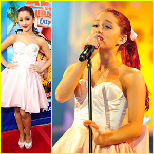 Ariana Grande: 'Alvin & The Chipmunks' Performance!