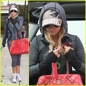 Ashley Tisdale: AllSaints Shopper