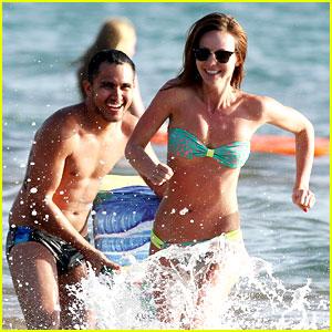 Carlos Pena & Samantha Droke: Hawaii Beach Day!