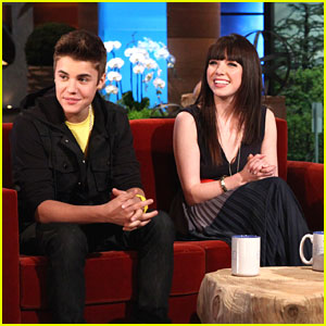 Carly Rae Jepsen &#038; Justin Bieber: 'ELLEN' Sneak Peek!
