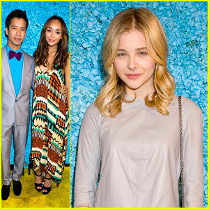 Chloe Moretz & Ashley Madekwe: Happy Birthday, Just Jared!