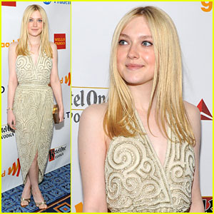Dakota Fanning: GLAAD Awards 2012