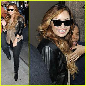 Demi Lovato: Sirius XM Radio Stop
