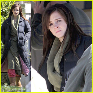 Emma Watson: 'The Bling Ring' Set Pics!