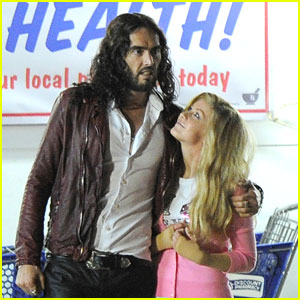 Julianne Hough: Filming in New Orleans with Russell Brand
