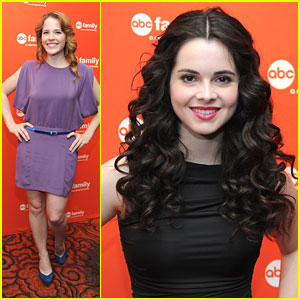 Katie Leclerc & Vanessa Marano: ABC Family Upfronts in NYC!