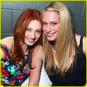 Leven Rambin & Jacqueline Emerson: Night Out with Nylon