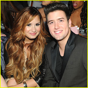 Demi Lovato &#038; Logan Henderson: 'Big Time Movie' Mates