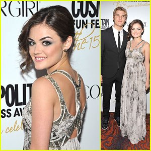 Lucy Hale: Cosmo Fun & Fearless with Chris Zylka