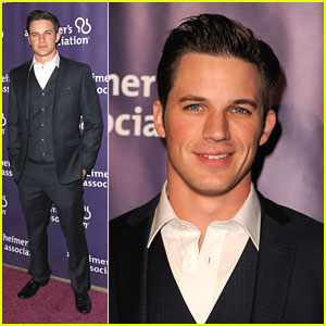 Matt Lanter: 'A Night At Sardi's' Stud