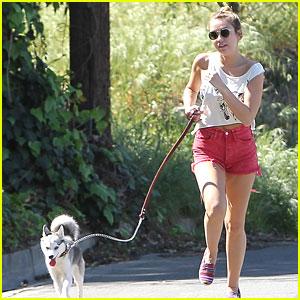 Miley Cyrus: Running with Floyd