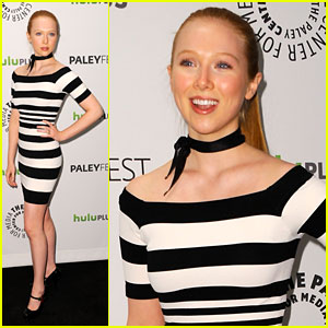 Molly Quinn Chats Alexis at PaleyFest 2012