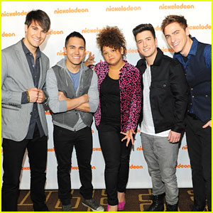 Big Time Rush & Rachel Crow: Nickelodeon Upfronts 2012!