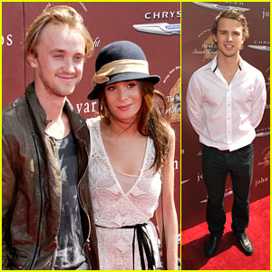 Tom Felton &#038; Freddie Stroma: Stuart House Benefit
