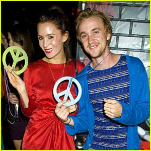 Tom Felton & Jade Olivia: Peace Out!