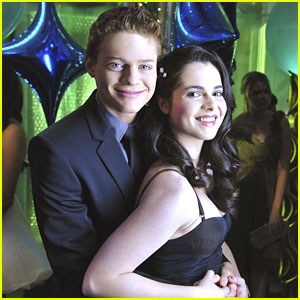 Vanessa Marano & Sean Berdy: 'Switched At Birth' Prom!