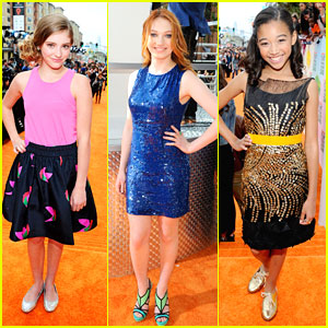 Amandla, Jackie &#038; Willow: Kids Choice Awards 2012!