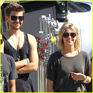Ashley Benson & Ryan Good: Justin Bieber Video Shoot!