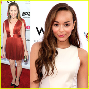 Ashley Madekwe & Christa B. Allen: NewNowNext Gets 'Revenge'