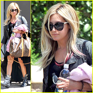 Ashley Tisdale: Op Video Interview!