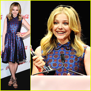 Chloe Moretz: CinemaCon's Female Star of Tomorrow!