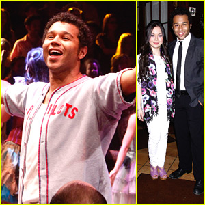 Corbin Bleu: 'Godspell' Opening Night!